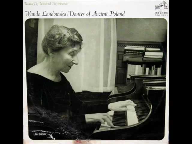 Landowska / Wanda Landowska, 1951: Bouree a'Auvergne – RCA, LM 2830