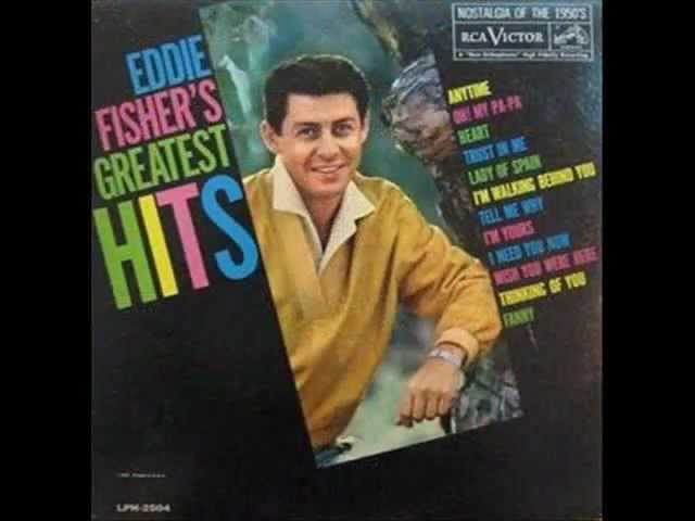 Eddie Fisher – Wish You Were Here ( 1953 )
