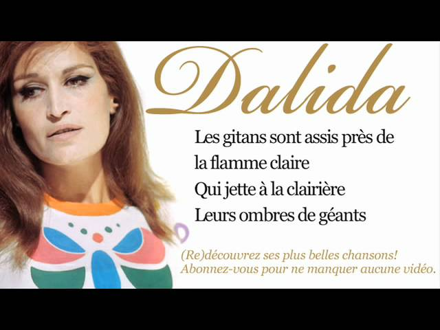 Dalida – Les gitans – Paroles (Lyrics)