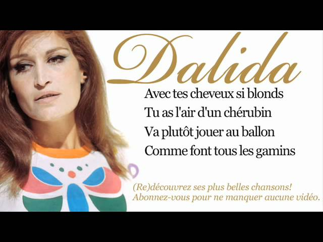Dalida – Bambino – Paroles (Lyrics)