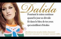 Dalida – Dans le bleu du ciel bleu – Paroles (Lyrics)