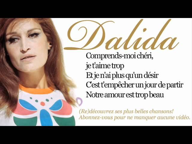 Dalida – Garde moi la dernière danse – Paroles (lyrics)