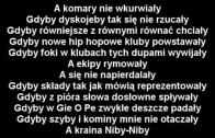 Paktofonika – Gdyby (tekst)