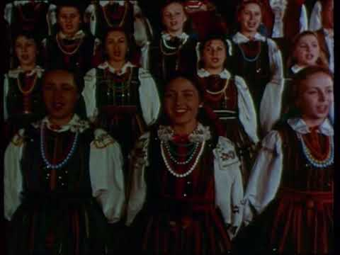 Mazowsze-Żołnierz i Panna(1954)