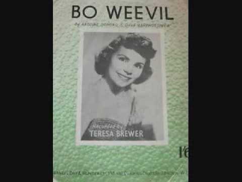 Teresa Brewer – Bo Weevil (1956)