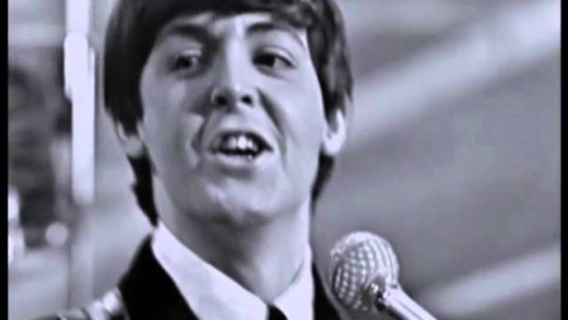 THE BEATLES – I Saw Her Standing There