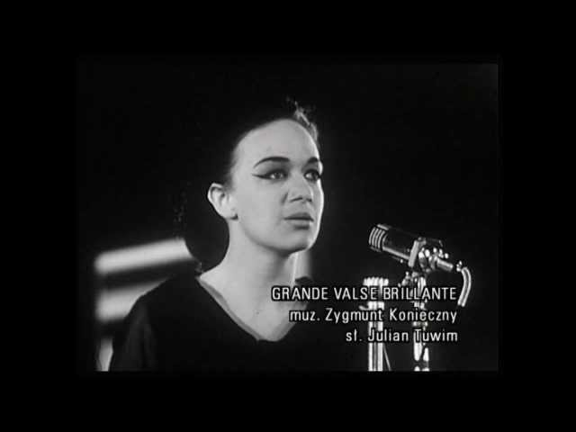 Ewa Demarczyk- Grande Valse Brillante(Sopot 1964)