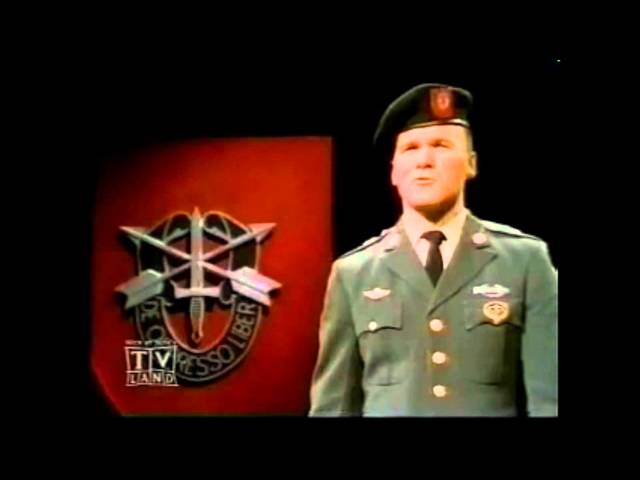 Ballad of the Green Berets – [HD] – – – SSGT Barry SADLER