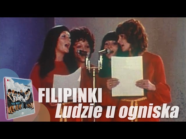 Filipinki – Ludzie u ogniska, 1971 r.