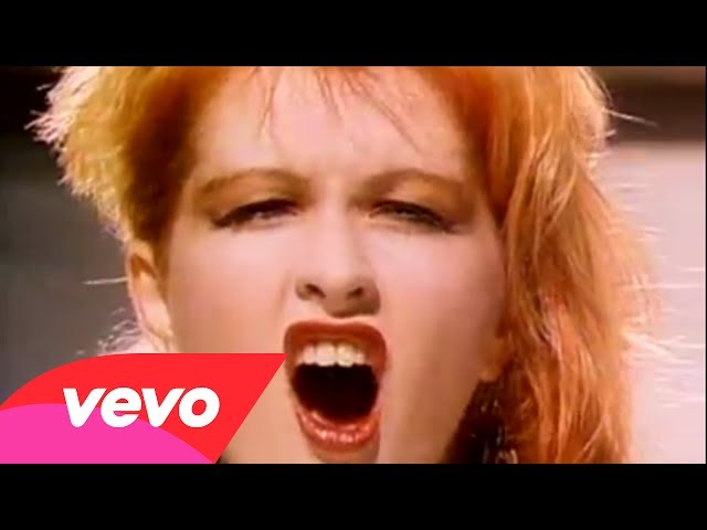 Cyndi Lauper – Girls Just Want To Have Fun (Official Video)