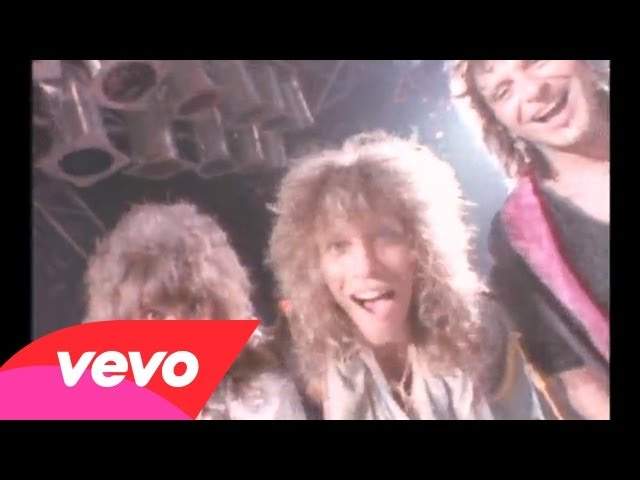 Bon Jovi – You Give Love A Bad Name