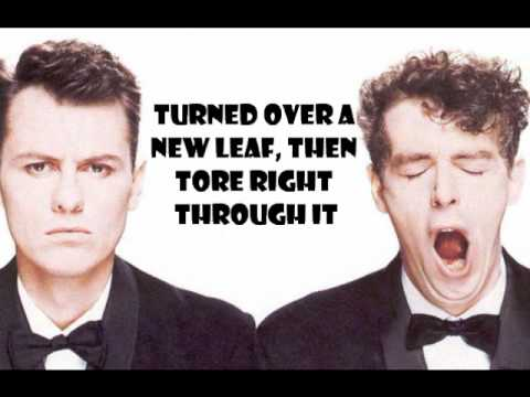 Pet Shop Boys – It's A Sin With Lyrics! HQ!