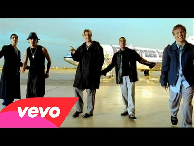 Backstreet Boys – I Want It That Way