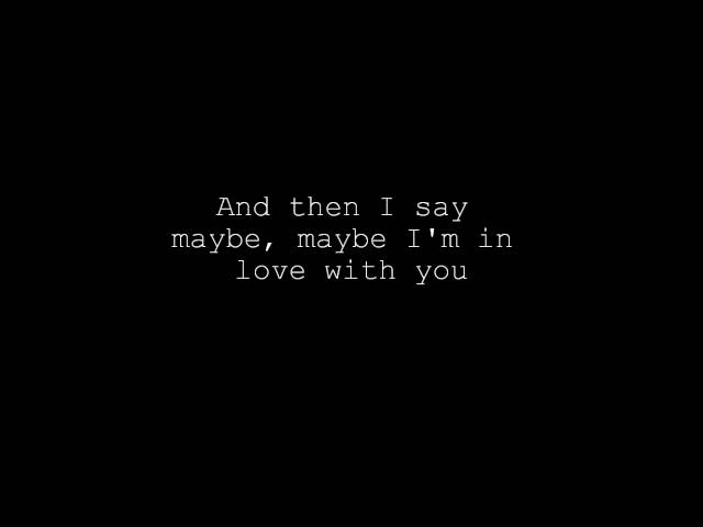 Maybe – Brainstorm