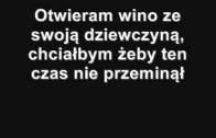 Sidney Polak – Otwieram wino + Tekst